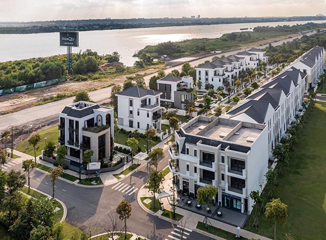 Tuyến đường Hương Lộ 2 ven sông Đồng Nai đang triển khai giai đoạn 1.