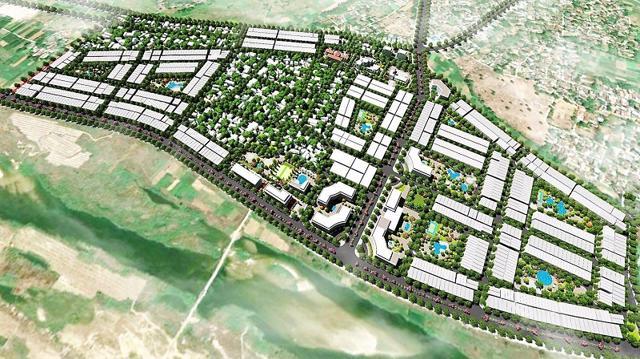 Phát Đạt mới xin 'trả lại' dự án khu dân cư bờ Bắc kết hợp chỉnh trang đô thị, với diện tích 53,95 ha.