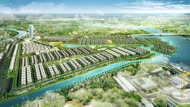 Phối cảnh dự án Khu đô thị phức hợp Hạ Long Xanh.