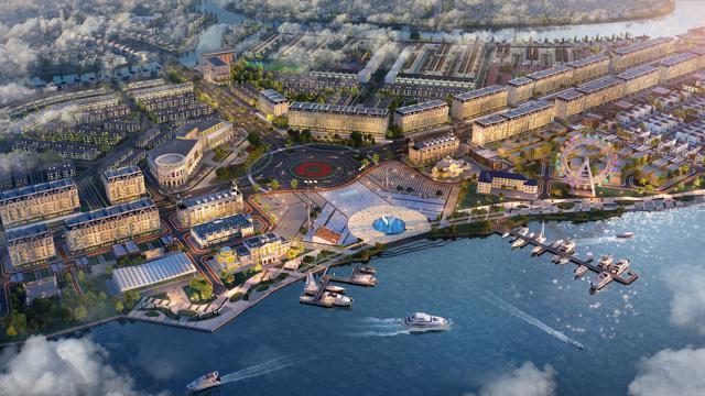 Sở hữu vị trí đắc địa đi cùng hệ tiện ích quy hoạch bài bản, khu đô thị sinh thái thông minh Aqua City luôn giữ được sức nóng trên thị trường.
