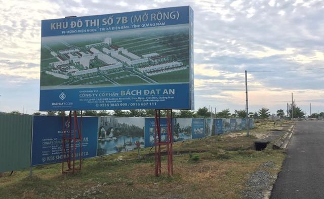 Bách Đạt An bị 'thúc' tiến độ GPMB tại nhiều dự án đầu tư ở Quảng Nam.