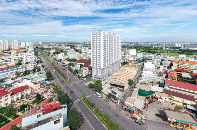 Quận Bình Tân, một trong những nơi lựa chọn ưa thích của người Tây Nam Bộ. Ảnh: Hưng Thịnh Land