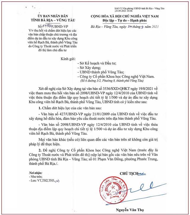 Nguồn: UBND tỉnh Bà Rịa – Vũng Tàu.