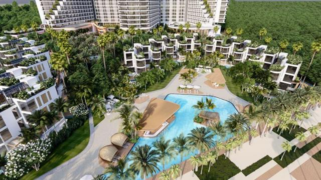 Thông qua công ty thành viên là Công ty TNHH Du lịch Khách sạn Phúc Đạt, DCT Group đã mua lại dự án Charm Long Hải Resort & Spa.Ảnh Internet
