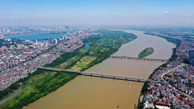 Quy hoạch sông Hồng sẽ đem đến những thông tin tích cực cho thị trường bất động sản.