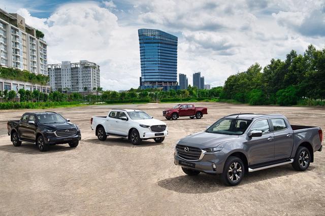 Mazda BT-50 hoàn toàn mới: Tiện nghi như mẫu SUV đa dụng - Ảnh 1