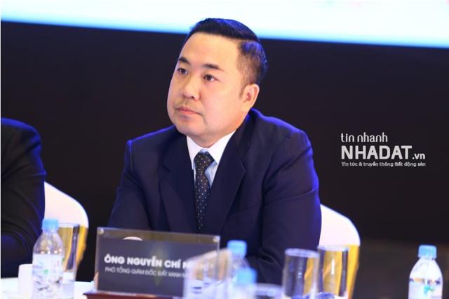 Ông Nguyễn Chí Nghĩa – Phó Tổng giám đốc CTCP Dịch vụ và Địa ốc Đất Xanh miền Bắc.