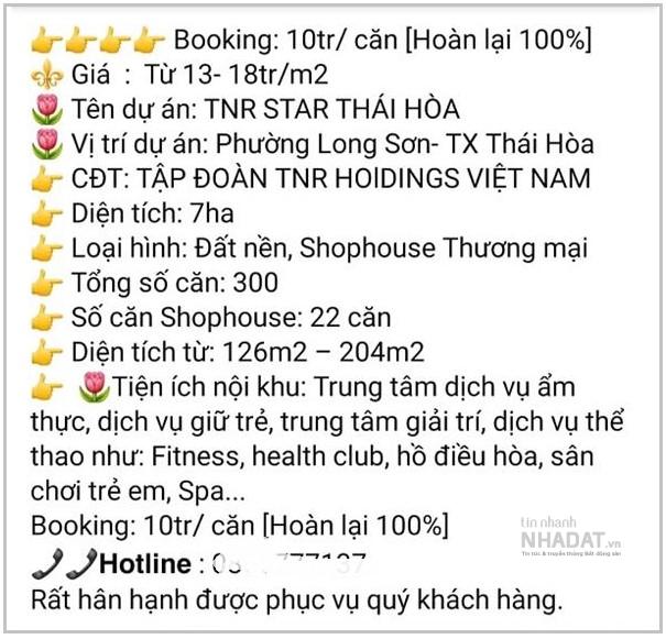 Phân lô, bán nền khi chưa đủ điều kiện, Nghệ An cảnh báo rủi ro cho khách hàng tại dự án Khu đô thị Long Sơn của TNR Holdings - Ảnh 2