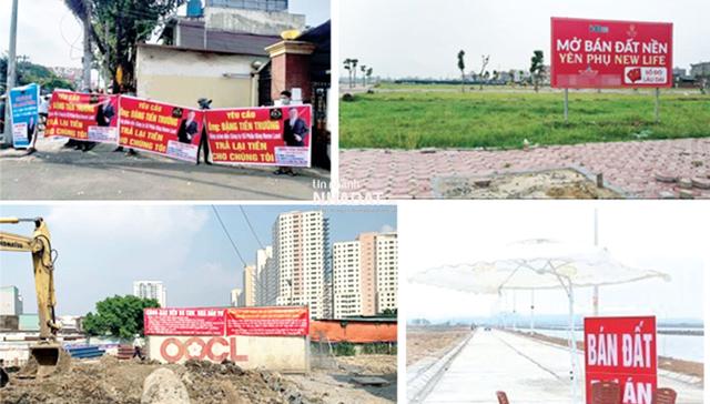 Tình trạng 'bán lúa non' diễn ra rầm rộ tại nhiều dự án trong những năm qua.