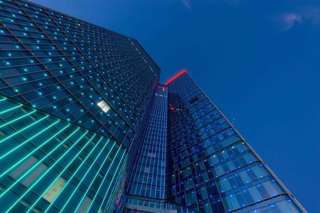 """Tòa tháp văn phòng TechnoPark Tower là mảnh ghép cuối cùng trong hệ sinh thái: sống – làm việc – nghỉ ngơi của đô thị """"all in one"""" Vinhomes Ocean Park."""