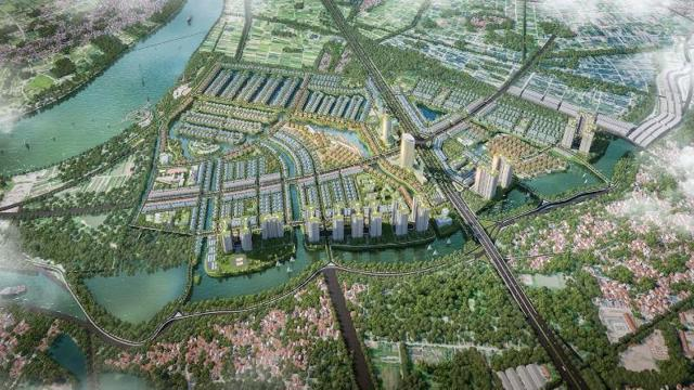 Điều chỉnh quy hoạch khu đô thị nhà vườn sinh thái 10.000 tỷ của Xuân Cầu tại Hưng yên - Ảnh 1