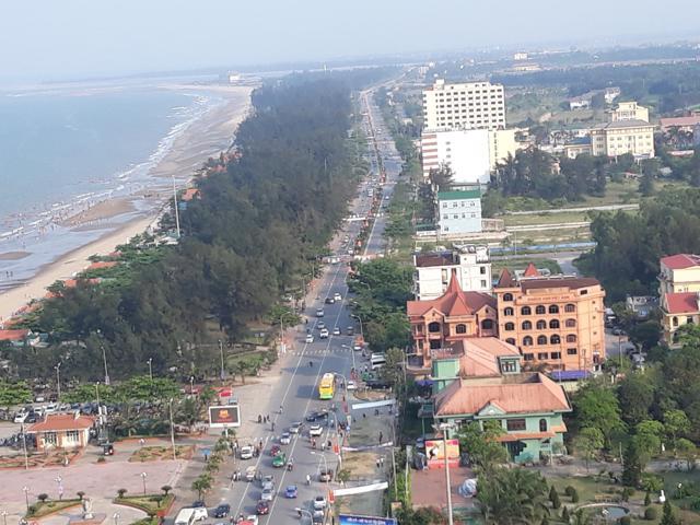 Nghệ An: Đầu tư 122 tỷ đồng nâng cấp các tuyến đường nội thị ở Cửa Lò - Ảnh 1