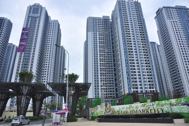 TNR Goldmark City do Địa ốc Việt Hân và TNG Holdings hợp tác thực hiện.