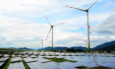 Nhiều dự án điện gió không kịp vận hành thương mại trước ngày 1/11/2021 để hưởng giá FIT. Ảnh minh họa