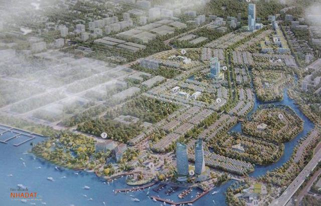 Phối cảnh dự án Riverine Can Tho City.