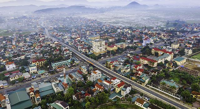 Huyện Quỳnh Lưu (Nghệ An) đang trên đà phát triển kinh tế, hạ tầng.
