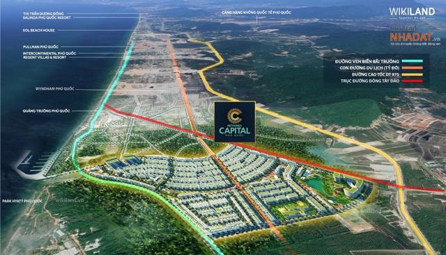 Meyhomes Capital Phú Quốc – dự án đầu tay khi lấn sân sang bất động sản của Tập đoàn Tân Á Đại Thành.