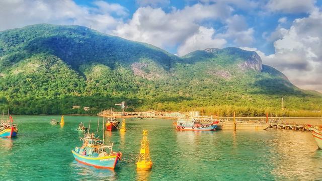 Khu Bến Đầm, huyện Côn Đảo, nơi bà Ngọc Bích trúng đấu giá khu đất hơn 9.994 m2. Ảnh: Người Lao Động.